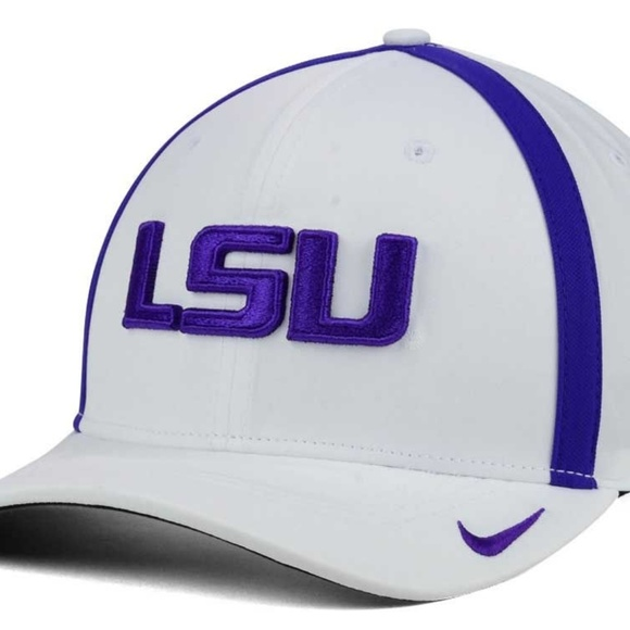 100% authentic 922bc 74731 LSU Tigers Nike NCAA Aerobill Sideline Coaches Cap